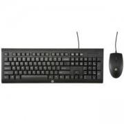 Клавиатура и мишка(комплект) Hp keyboard combo, Черен цвят, H3C53AA