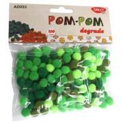 Pom-Pom Degrade Daco - Verde
