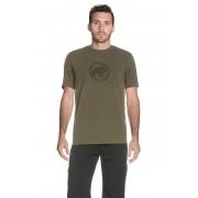 Mammut T-Shirt Logo, Rundhals, Regular Fit grün