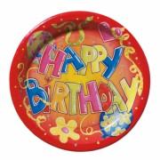 FARFURII CAMPING 23CM SET10 HAPPY BIRTHDAY