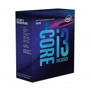 Procesador Intel Core I3 8350K 4 GHz Quad Core 8 MB Socket 1151 V2-Gris