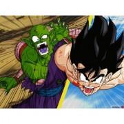 goku vs picolo sticker poster|dragon ball z poster|anime poster|size:12x18 inch|multicolor