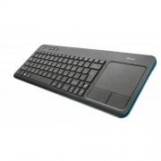 Klávesnica TRUST Veza Touchpad Wireless CZ & SK