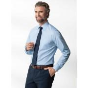 Walbusch Extraglatt-Hemd Kent-Kragen Blau 44