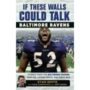If These Walls Could Talk: Baltimore Ravens: Stories from the Baltimore Ravens Sideline, Locker Room, and Press Box, Paperback/Todd Karpovich