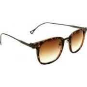 Mangal Brothers Rectangular Sunglasses(Brown)