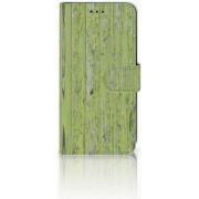 Xiaomi Mi A2 Lite Boekhoesje Design Green Wood