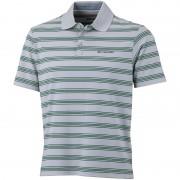 Columbia BIG Smoke II t-shirt Heren Stripe Polo grijs/groen S 2014 Poloshirts