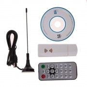 E4000 USB DVB-T RTL-SDR Realtek RTL2832U R820T DVB-T Tuner Ontvanger Whitefor TV PC of Laptop