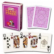 Modiano Texas Poker Jumbo - Purple