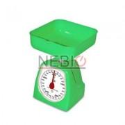 Cantar de bucatarie Dekassa mecanic, 5 kg, Verde