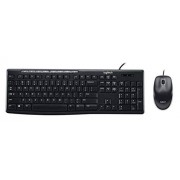 Logitech Media Combo MK200 Full-Size Keyboard and High-Definition Optical Mouse