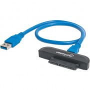 Adaptor, Manhattan ,SuperSpeed , USB 3.0 , negru