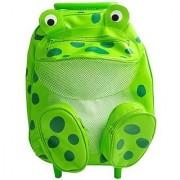 Sassafras Pull-Along Frog Bag