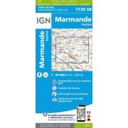 Wandelkaart - Topografische kaart 1738SB Marmande - Seyches | IGN