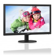 Philips 240V5QDSB/00, 23.8 inch IPS W-LED, 1920 x 1080 Full HD, HDMI, negru