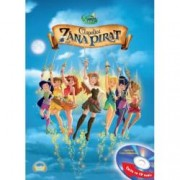 Disney Audiobook. Clopotica si zana pirat Carte + CD