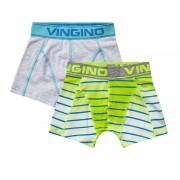 Vingino Boys Short Degra 2-pack Lime Green-XXS