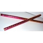 Dandiya Dandia Sticks for garba navratri celebrations Multicolor - 10 pair