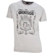 Orange T-Shirt Crest Grey M