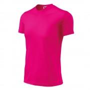 Детска тениска Fantasy розово неон