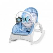 Lorelli Enjoy rezgő-zenélő pihenőszék - Blue Bunny