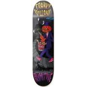 Primitive Villani Pumpkin Skateboard Deck (Svart)