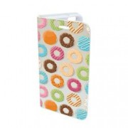 Husa Flip Cover Book Case Design 72 Donut Multicolor Samsung Galaxy S7 Edge