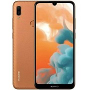 Huawei Y6 2019 MRD-LX3 Teléfono de 6.09 pulgadas con pantalla Dewdrop, 32 GB, 2GB RAM Dual SIM 13MP+ 8MP A-GPS, huella dactilar, desbloqueado de fábrica, sin garantía EE.UU., Marrón