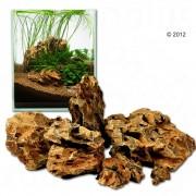 Rocas Dragón- Ohko Rock para acuarios - Set 120 cm: 11 rocas naturales, aprox. 16,5 - 17,5 kg