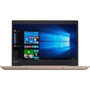 Laptop ultraportabil Lenovo IdeaPad 520S-14IKB cu procesor Intel Core i3-7100U 2.30 GHz, Kaby Lake, 14 , 4GB, 1TB, Intel HD Graphics, Microsoft Windows 10, Golden