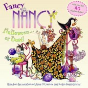 Fancy Nancy Halloween or Bust! [With 30+ Stickers and Cut-Out Door Hanger], Paperback