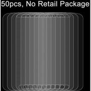 50 Pcs Para El Samsung Galaxy S IV / I9500 0.26mm 9h Dureza Superficial 2.5D A Prueba De Explosion Tempered Glass Film, Sin Paquete Al Por Menor