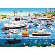 Puzzle Ravensburger - Port Fericit, 35 piese (08793)