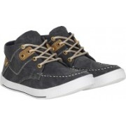 Knot n Lace Lucky Sneakers For Men(Grey)