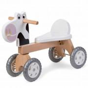 CHILDWOOD Children's Balance Bike White Cow 56x22x41 cm CWWBC