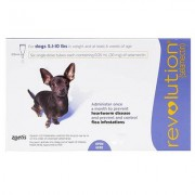 Revolution For Very Small Dogs 2 To 5kg (Purple) 6 Pack