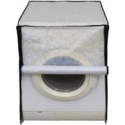 Glassiano Off White Colored Washing Machine Cover For IFB Diva Aqua SX Front Load 6Kg