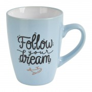 Xenos Mok follow your dreams - blauw - 30 cl