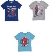 Spider-Man Spiderman T-shirt Barn (BLÅ, 8A - 128 CM)