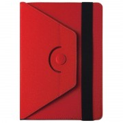 GreenGo Orbi Universal Tablet Rotary Case 8-10 - Red