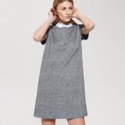 House - Sukienka z kontrastowym kołnierzykiem - Wielobarwn
