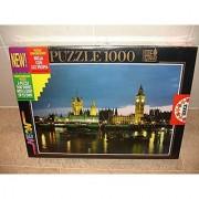 The Parliament London 1000-Piece Flourescent Jigsaw Puzzle