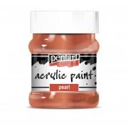 Pentart Metál vörösréz színű akril bázisú hobbi festék 230 ml