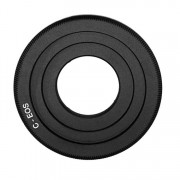 Adapter C-EOS: C mount movie Lens - Canon DSLR Camera