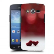 Husa Samsung Galaxy Core 4G LTE G386F Silicon Gel Tpu Model Little Hearts