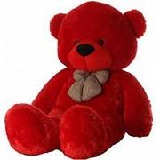 Teddy Bear Birthday Gift for Girlfriend/Wife Happy Birthday Teddy Soft Toy 3 feet Red 92