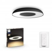 Philips Hue Still plafondlamp - White Ambiance - zwart (incl. DIM switch)