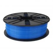 Gembird Bobina de Filamento PLA 1.75mm 1Kg Azul Fluorescente