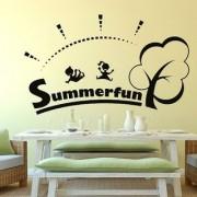 Decor Villa Wall Sticker (Summer Surface Covering Area 33 x 20 Inch)